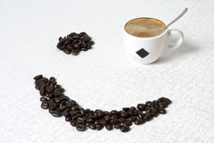 Funny Coffee Royalty Free Stock Photo
