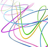 Funny colored wires Royalty Free Stock Photo