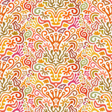 Funny Colorful Seamless Pattern with Abstract Royalty Free Stock Photography