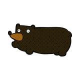 funny comic cartoon bear Stock Photo