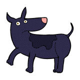funny comic cartoon dog Stock Images