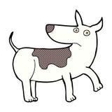 Funny comic cartoon dog Stock Photography