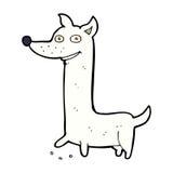 Funny comic cartoon dog Stock Photos