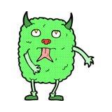 Funny comic cartoon monster Stock Photography