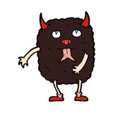 Funny comic cartoon monster Royalty Free Stock Photography