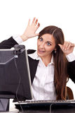 Funny communication Stock Photo