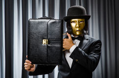 Funny concept with theatrical Royalty Free Stock Images