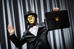 Funny concept with theatrical Royalty Free Stock Image