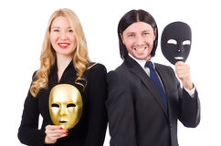 Funny concept with theatrical Stock Images