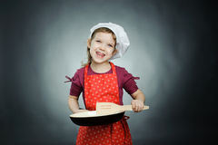 Funny cook Stock Images