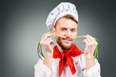 Funny cook Royalty Free Stock Photography