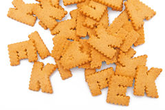 Funny cookies Royalty Free Stock Image