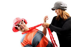 Funny couple Royalty Free Stock Images