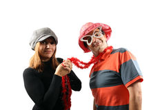 Funny couple Royalty Free Stock Photography