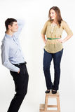 Funny couple Royalty Free Stock Image