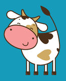 Funny cow Royalty Free Stock Photography