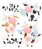 Funny cows Royalty Free Stock Photos