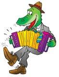 Funny crocodile Stock Photos
