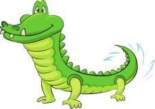 Funny crocodile. A picture of a funny crocodile stock illustration