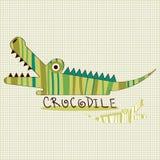Funny crocodile Stock Photography