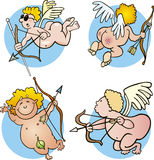 Funny cupids Royalty Free Stock Photography