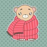 Funny cute bear royalty free stock photos