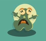 Funny cute cartoon monster Stock Photos