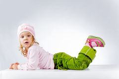 Funny cute girl Stock Photo