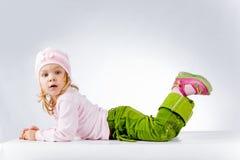Funny cute girl Stock Photo