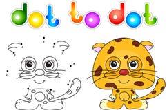 Funny and cute jaguar Stock Photos