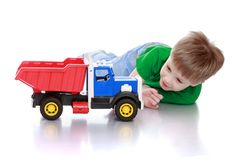 Funny cute little boy Royalty Free Stock Image