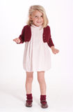 Funny cute little girl Royalty Free Stock Images