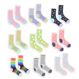 Cute socks stickers set royalty free illustration