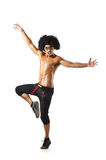 Funny dancer Stock Photo