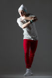Funny dancer guy Stock Photography