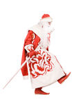Funny Ded Moroz (Father Frost) Royalty Free Stock Photography