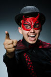 Funny devil Royalty Free Stock Photo