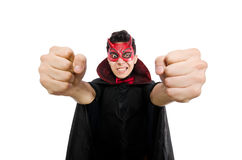 Funny devil Royalty Free Stock Photos