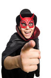 Funny devil Stock Images