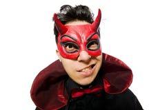 Funny devil Stock Photo