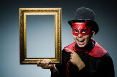 Funny devil Royalty Free Stock Photos