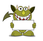Funny devil Stock Images