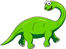 Funny dinosaur cartoon Royalty Free Stock Photos