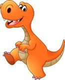 Funny Dinosaur cartoon Royalty Free Stock Images