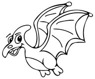 Funny dinosaur coloring pages Stock Image