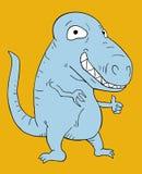 Funny dinosaur Stock Photos