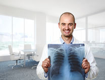Funny doctor Royalty Free Stock Image