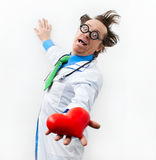 Funny doctor Royalty Free Stock Images