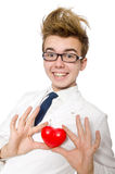 Funny doctor isolated Royalty Free Stock Photography