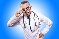 Funny doctor  Stock Photo